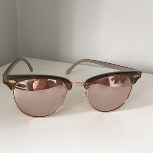 Urban Outfitters Rose Sunglasses